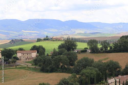 Deurstickers Toscane Paesaggi di Toscana