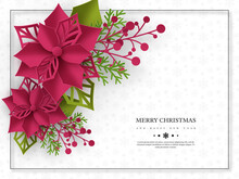 Christmas Holiday Banner. 3d P...