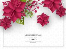 Christmas Holiday Banner. 3d P...