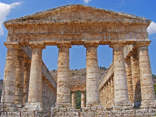 Fotografie, Obraz  Tempio di Segesta, Sicilia