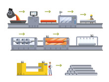 Steel Or Metal Production Proc...