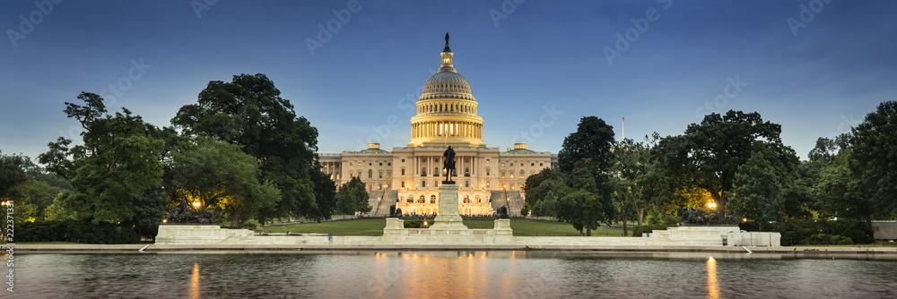 Fototapety, obrazy: United States Capitol and the Senate Building, Washington DC USA