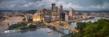Pittsburgh City Downtown Skyli...