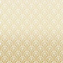 Gold Art Deco Pattern Background Design