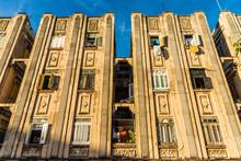 A Typical View In Havana In Cuba