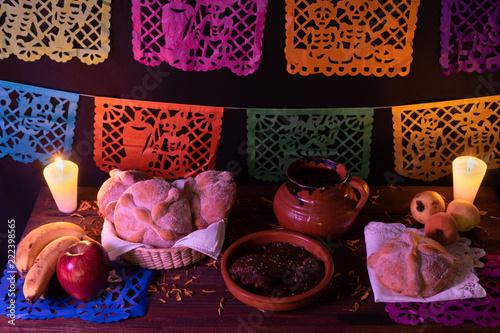 Fotografie, Obraz  Ofrenda tradicional