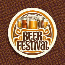 Vector Logo For Beer Festival,...