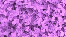 Purple Fractured Surface