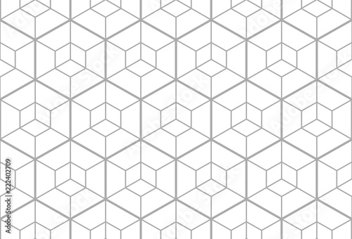 Fototapeta kratka  the-geometric-pattern-with-lines-seamless-vector-background-white-and-grey-texture-graphic