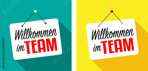 Fotografía  Willkommen im team