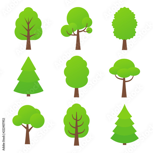 Tree Icon Vector Nature Symbol In Flat Design Green Forest Plants Cartoon Illustration Collection Of Design Elements Buy This Stock Vector And Explore Similar Vectors At Adobe Stock Adobe Stock Available in png and svg formats. tree icon vector nature symbol in