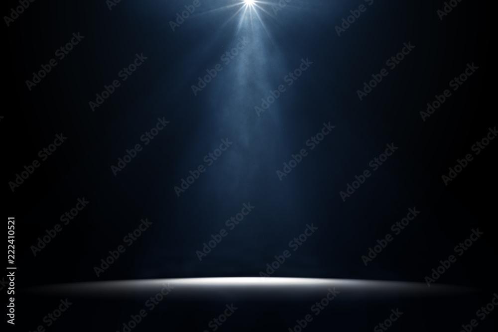 Fototapeta moody stage light background