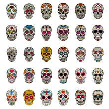 Big Set Of Mexican Sugar Skull...