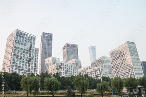 Keuken foto achterwand Stad gebouw Beijing CBD, China