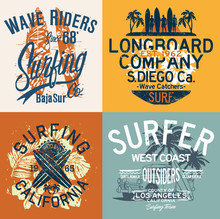 West Coast California Surfing ...