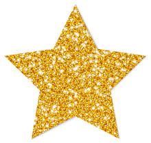 Golden Star Sparkling Shadow