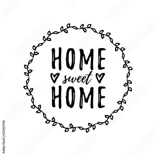 Valokuva Home sweet home
