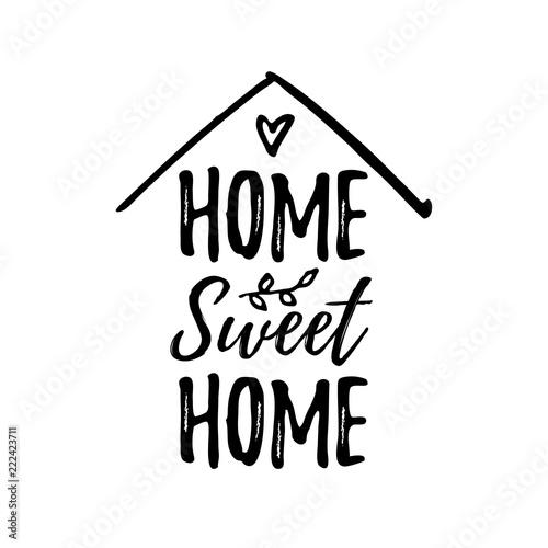 Home sweet home Fototapeta