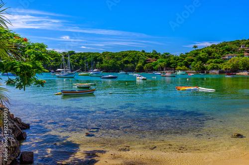 Fotografia Ossos Beach in Buzios, Rio de Janeiro, Brazil