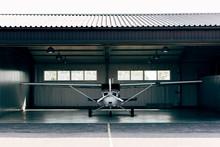 Small Modern White Airplane St...