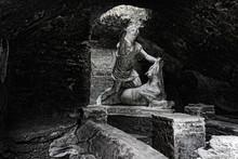 Mithras' Statue Killing The Bull