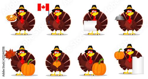 Photo Thanksgiving turkey. Happy Thanksgiving day