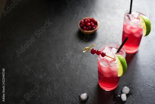 Cranberry Cape Codder Cocktail