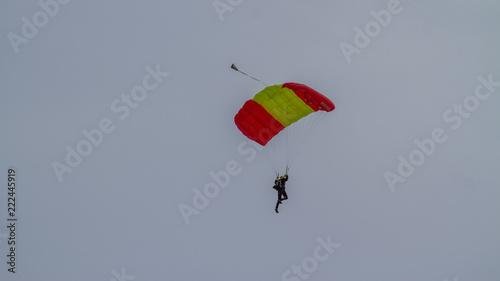 Foto op Canvas Luchtsport Parachute