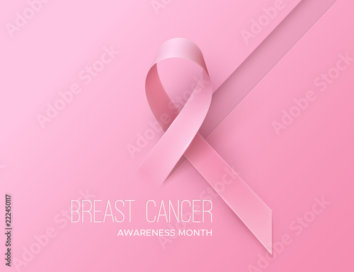 Cuadros en Lienzo Breast Cancer Awareness Pink Ribbon