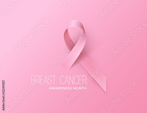 Fotografía Breast Cancer Awareness Pink Ribbon
