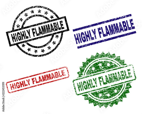 Highly Flammable Seal Prints With