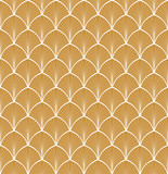 Abstract Art Deco Seamless Background. Geometric Fish Scale Pattern. - 222464925