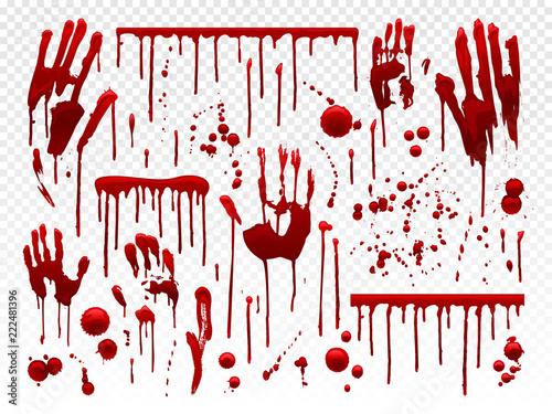 Fototapeta Blood drip