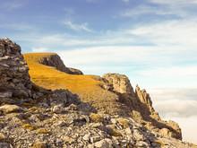 Mount Olympus In Greece In Aut...