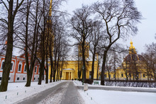 In Peter And Paul Fortress In ...