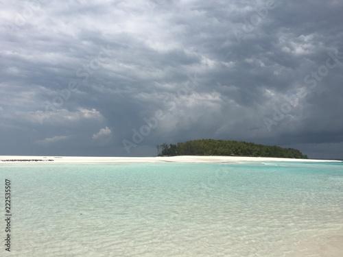 Fotografie, Obraz  lingua di sabbia