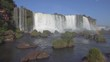 Iguazu Falls in Argentina - Brasil Border is one of the Natural Seven Wonders of the World and an UNESCO World Heritage Site