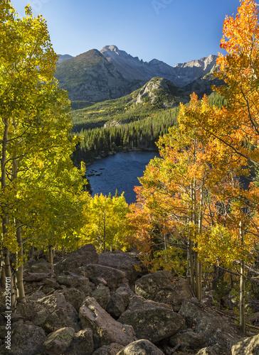 Autumn Vista from Bear Lake Rock Pile