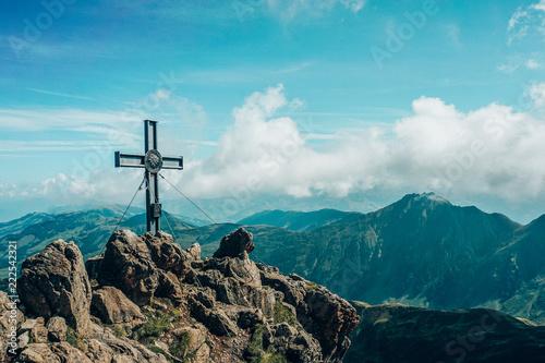 Aluminium Prints Brazil Peak of Tirol