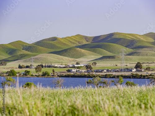 Aluminium Prints New Zealand Afternoon view of the beautiful San Luis Creek Kiosk