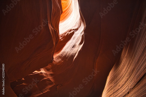 Famous Antelope Canyon in Arizona