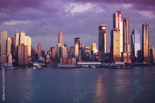 Foto op Aluminium Shanghai Manhattan Skyline from NewJersey, New York City