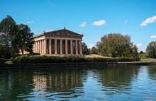 Parthenon, Nashville, Athens, Park, Acropolis, Greece, Architecture, Landmark, Greek, Temple, Centennial, Tennessee, Tourism, Ancient, History, Spring, Blue, Replica, Art, Sky, Old, Flower, Travel, Ou