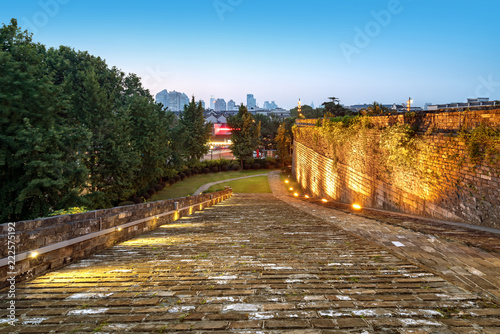 Foto op Aluminium Historisch geb. Nanjing ancient city wall traditional architecture
