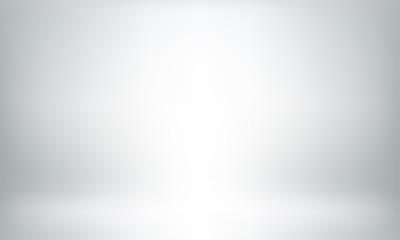 Gray studio background or backdrop 3D room lightbox