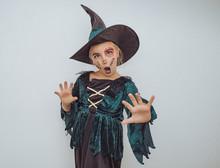 Kleine Hexe Mädchen