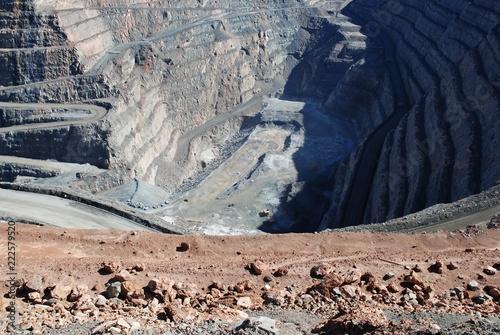 Foto op Aluminium Zalm Kalgoorlie Super Pit, Goldfields Western Australia