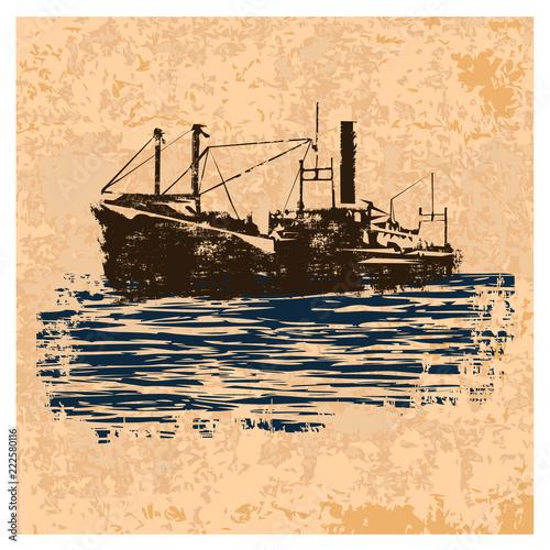 Fotografía  Merchant_navy_vintage
