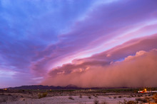 Haboob Dust Storm Ahead Of A P...