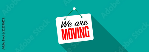 Fototapeta We are moving obraz